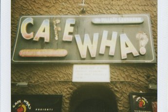 Cafe Wha? - Live Music Venue in New York.
