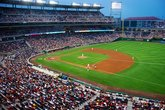 Nationals Park - Stadium in Washington, DC.