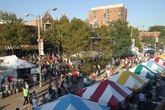 Oak Park Oaktoberfest - Street Fair in Chicago.