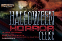 5th Annual Halloween Horror Cruise - Party in New York.