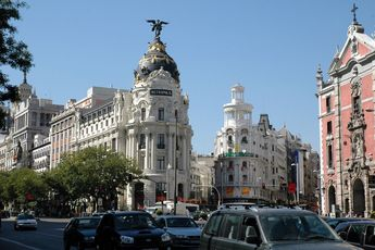 Gran Vía - Outdoor Activity   Shopping Area in Madrid.
