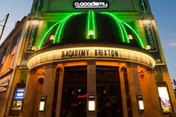 O2 Academy Brixton - Concert Venue in London.