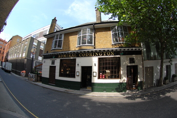 "The Admiral Codrington (""The Cod"") - Pub in London."