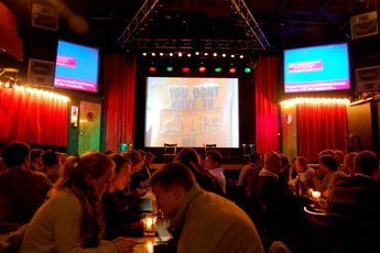 Boom Chicago - Comedy Club in Amsterdam.