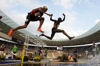 Internationales Stadionfest - Track & Field in Berlin.