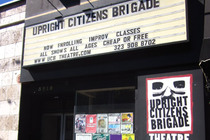UCB Theatre (Upright Citizens Brigade) - Comedy Club in Los Angeles.
