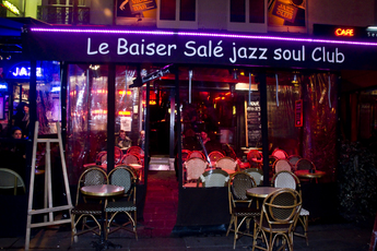 Le Baiser Sal - Bar | Jazz Club | Live Music Venue in Paris.