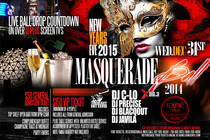 New Year's Eve 2015 Masquerade at Raine Lounge - Party | Holiday Event in New York.