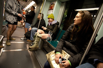 No Pants Subway Ride: Boston - Special Event in Boston.