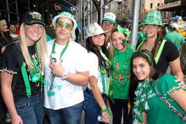 St. Patrick's Day 2015 in New York