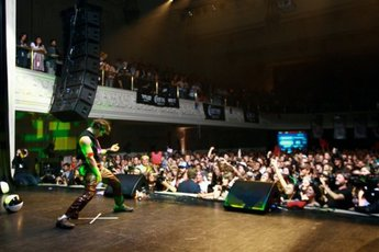 The US Air Guitar Championships - Special Event in Chicago.