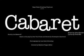 Cabaret - Play in San Francisco.