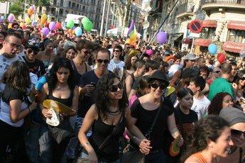 Gay pride in barcelona