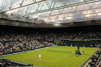 The All England Lawn Tennis Club - Stadium in London.