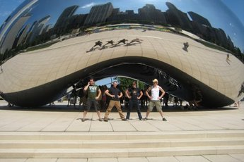 """The Bean"" at Millennium Park is a photo op waiting to happen."