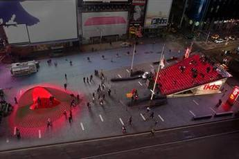 Times Square Valentine Design - Art Exhibit | Holiday Event | Special Event in New York.