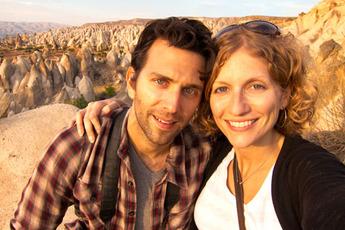 Scott and Laura