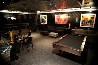 Trousdale - Club   Lounge in Los Angeles.