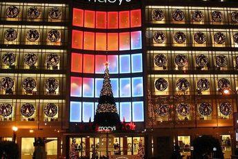 Macy's Tree Lighting - Union Square
