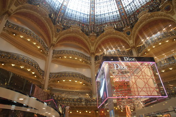 Galeries Lafayette - Mall | Shopping Area in Paris.