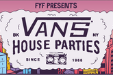 Vans House Parties - Concert in New York.