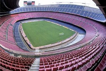Camp Nou in Barcelona.