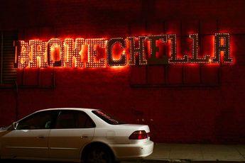 Brokechella - Music Festival in Los Angeles.