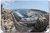 Circuit de Monaco - Race Track in French Riviera.