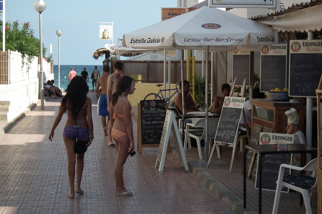 Photo of Playa d&#x27;en Bossa, Ibiza