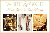 White & Gold New Year's Eve Party at Fig & Olive Melrose Place - Food & Drink Event | Party | Holiday Event in Los Angeles.