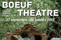 37th Boeuf Theatre - Comedy Festival in French Riviera