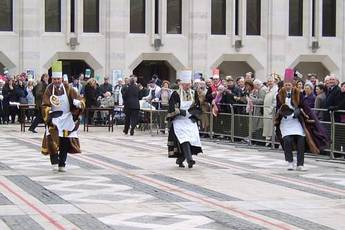 Inter-Livery & City of London Pancake Races - Food & Drink Event | Sports in London.