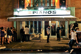 Pianos - Bar | Live Music Venue | Lounge in New York.