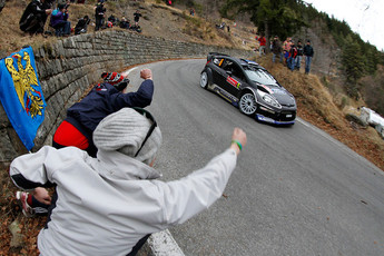 The Monte Carlo Rally in the French Riviera