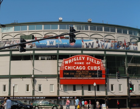 Wrigleyville, Chicago.