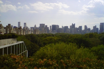The view from the roof at The Met in New York.