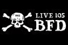 Live 105&#x27;s BFD - Concert in San Francisco.