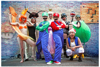 Boobs and Goombas: A Super Mario Burlesque - Burlesque Show in Chicago.