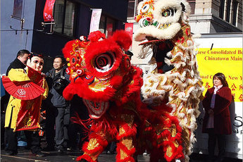 Chinese Lion Dance Parade - Ethnic Festival | Holiday Event | Parade in Boston.