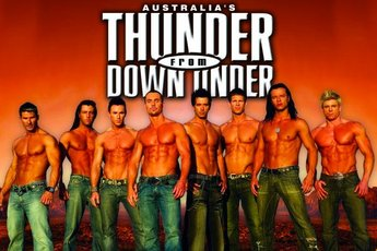 Thunder From Down Under - Show in Boston.