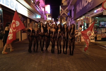 The West End - Nightlife Area in Ibiza.