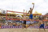 AVP Championships - Volleyball in Los Angeles.