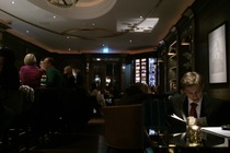 The Churchill Bar - Hotel Bar in London.